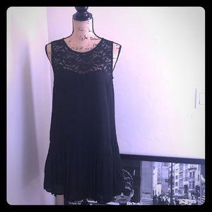 Mimi Chica black illusion shift dress-  NWOT